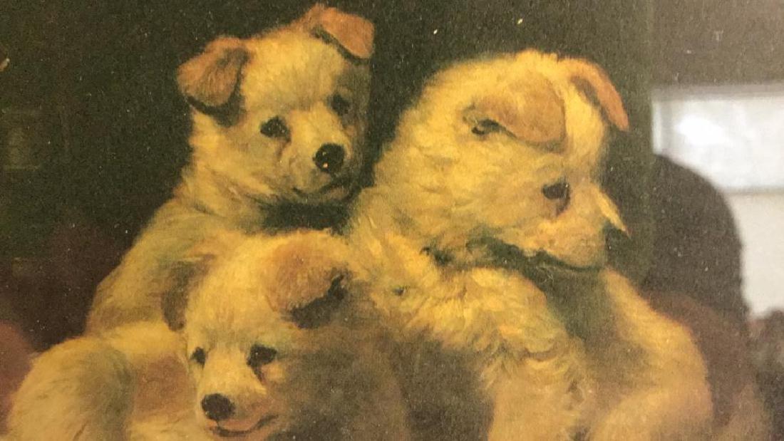 Lot 2 Framed Dog Prints Artwork - 5