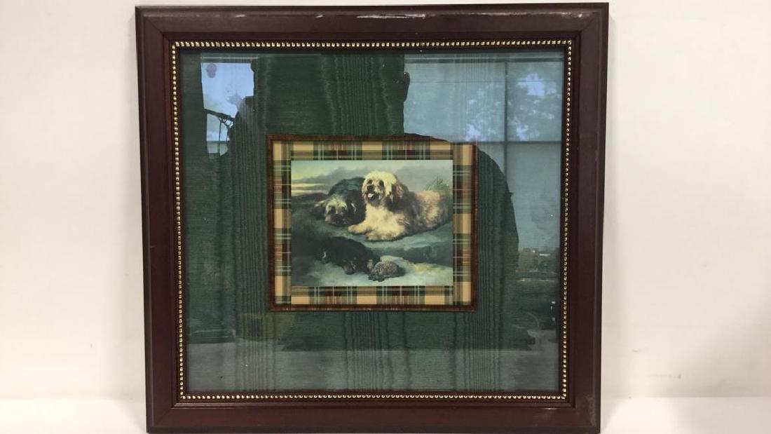 Lot 2 Framed Dog Prints Artwork - 6