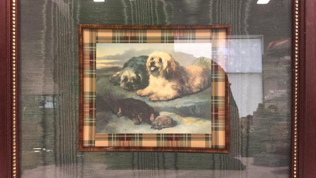 Lot 2 Framed Dog Prints Artwork - 7