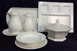 Tableware White Ceramic Porcelain Group Lot