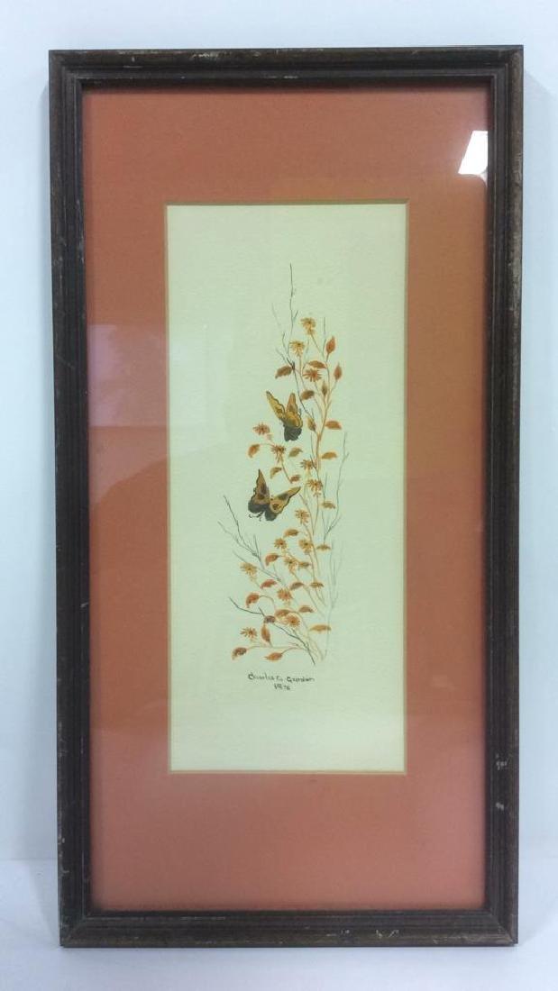 Lot 2 CHARLES G GURDON Framed Artwork - 2