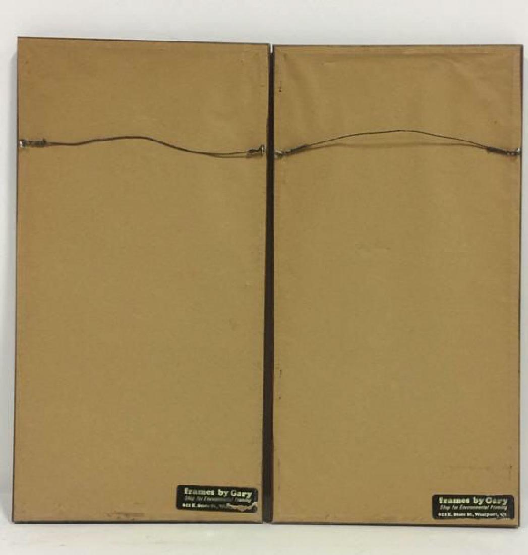 Lot 2 CHARLES G GURDON Framed Artwork - 9
