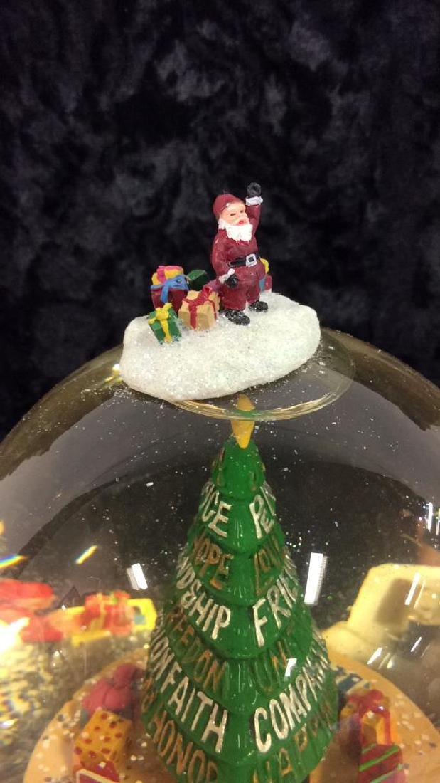 Holiday Snow Globe - 5