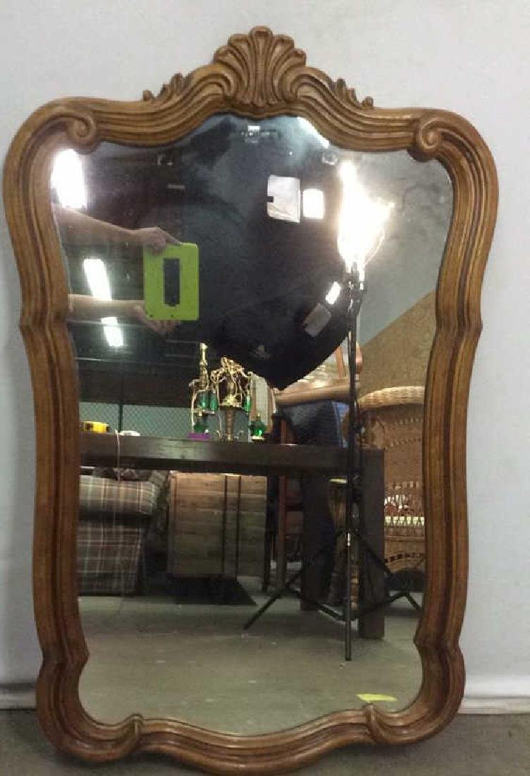 DREXEL HERITAGE GRAND TOUR Carved Wooden Mirror - 2