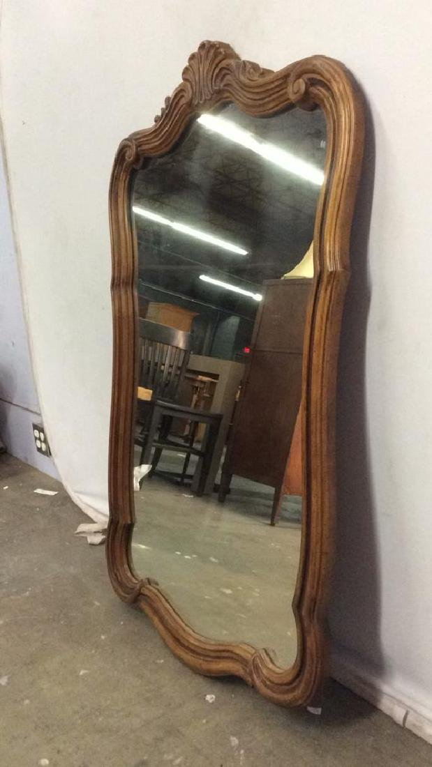DREXEL HERITAGE GRAND TOUR Carved Wooden Mirror - 4