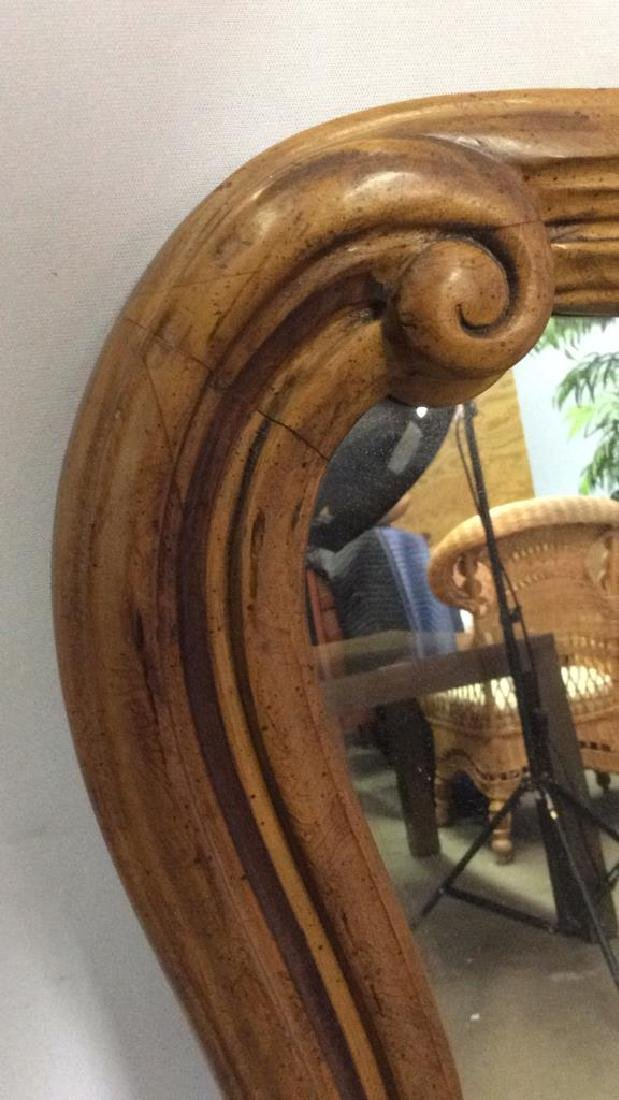 DREXEL HERITAGE GRAND TOUR Carved Wooden Mirror - 5