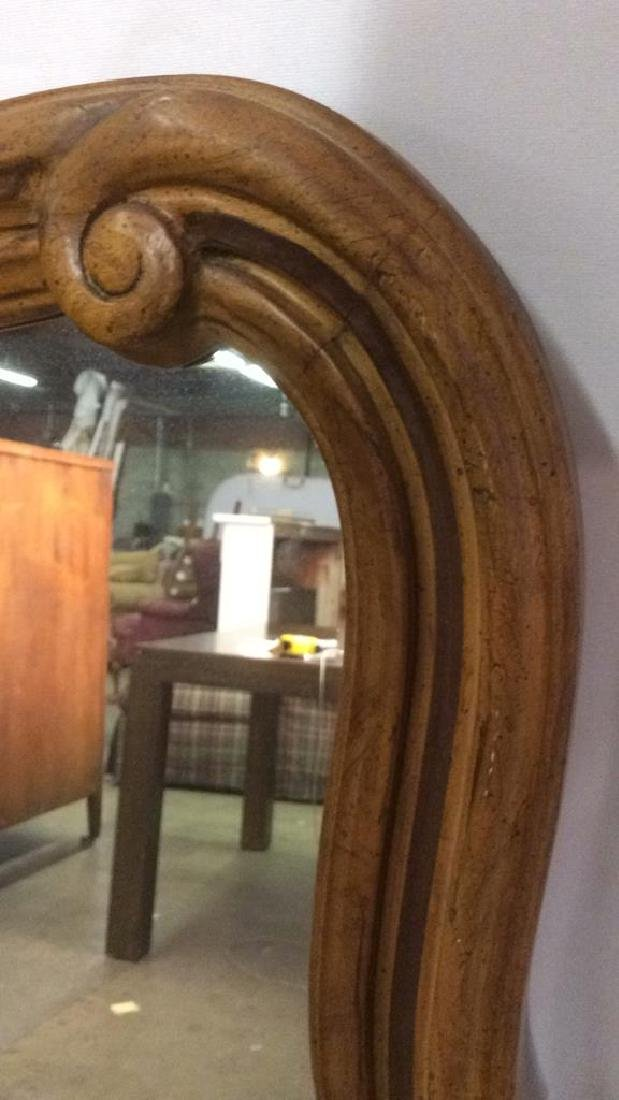 DREXEL HERITAGE GRAND TOUR Carved Wooden Mirror - 6