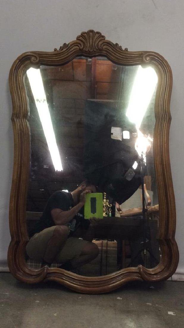 DREXEL HERITAGE GRAND TOUR Carved Wooden Mirror - 7