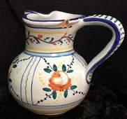 Signed ITALIAN Milk Pitcher Vase