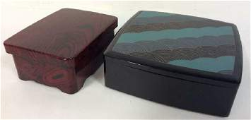 Lacquer ware Tabletop Boxes