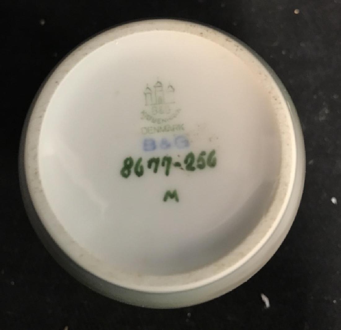 Denmark B&G ceramic Porcelain  Bud Vase - 5