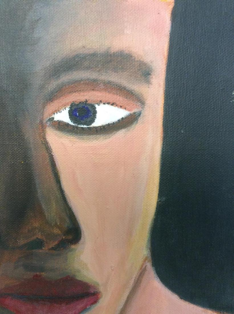 Human Eye Oil on Canvas Painting - 5
