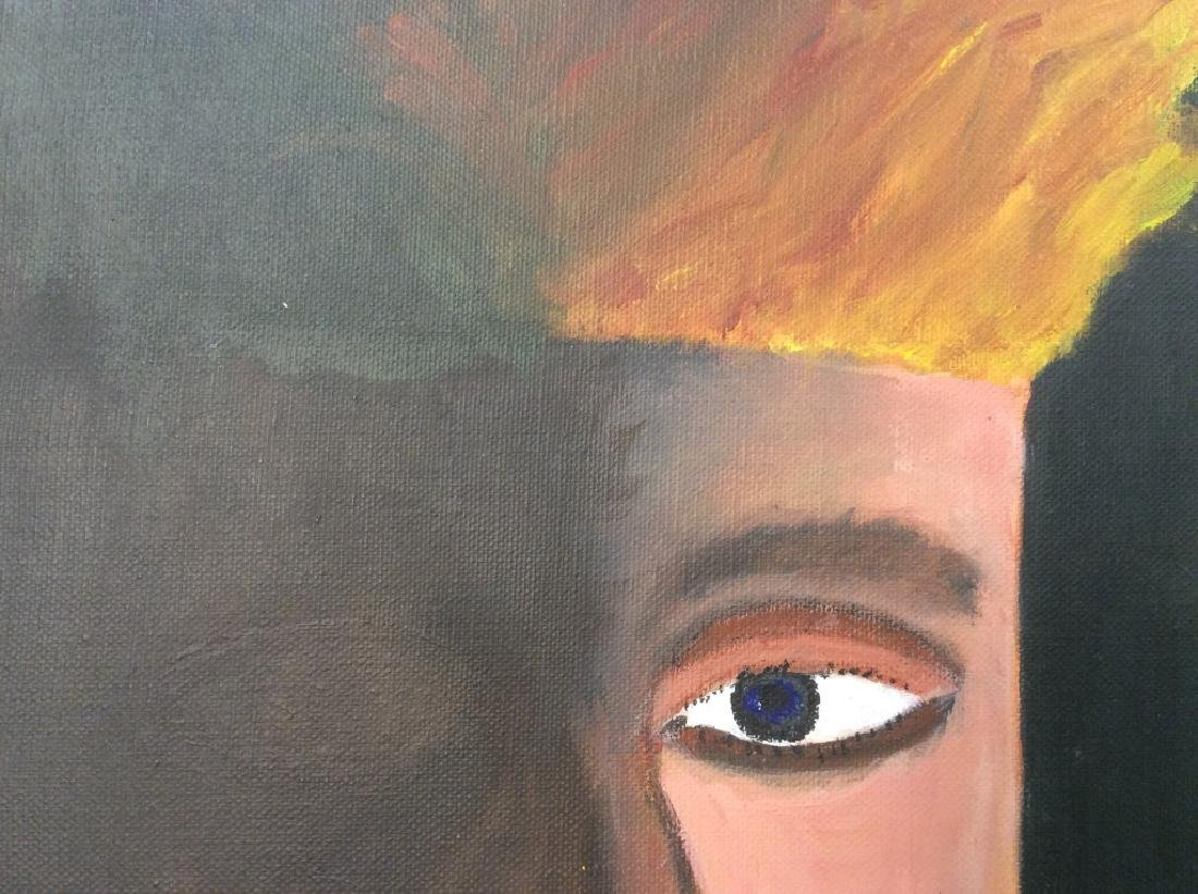 Human Eye Oil on Canvas Painting - 6