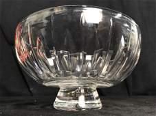 STUART ENGLAND Cut Crystal Bowl
