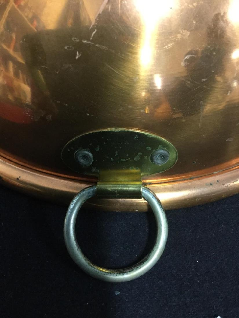 Copper Bowl with Handle - 6