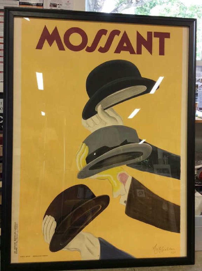 Vintage Leonetto Cappiello Mossant Litho Poster