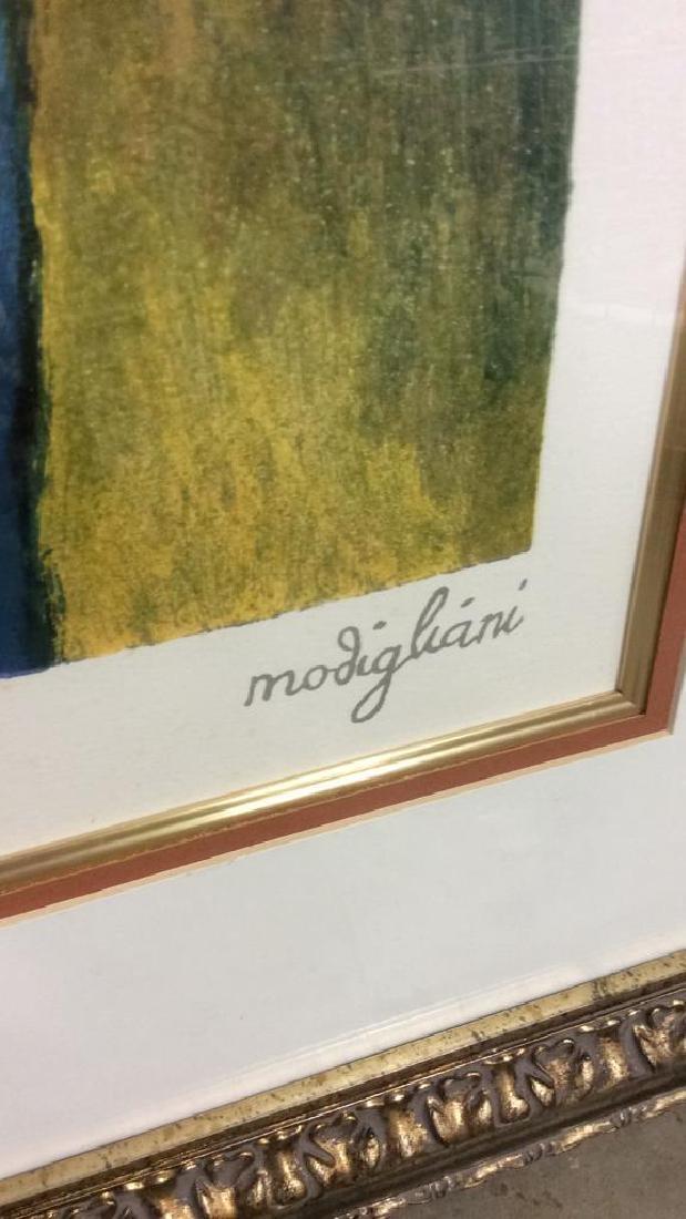 Modigliani Limited Edition Lithograph - 10