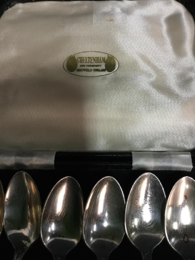 CHELTENHAM ENGLAND Silver Spoons - 6