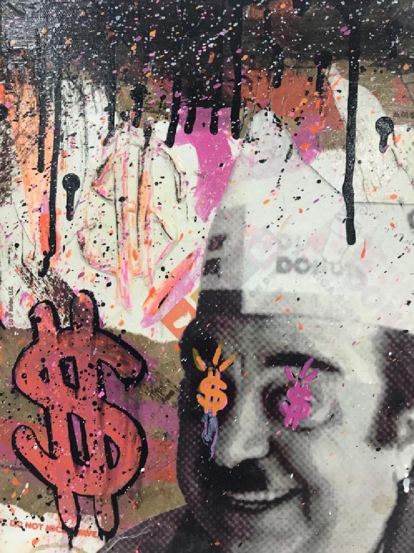 1980s Dunkin Donuts Pop Art Mixed Media - 4