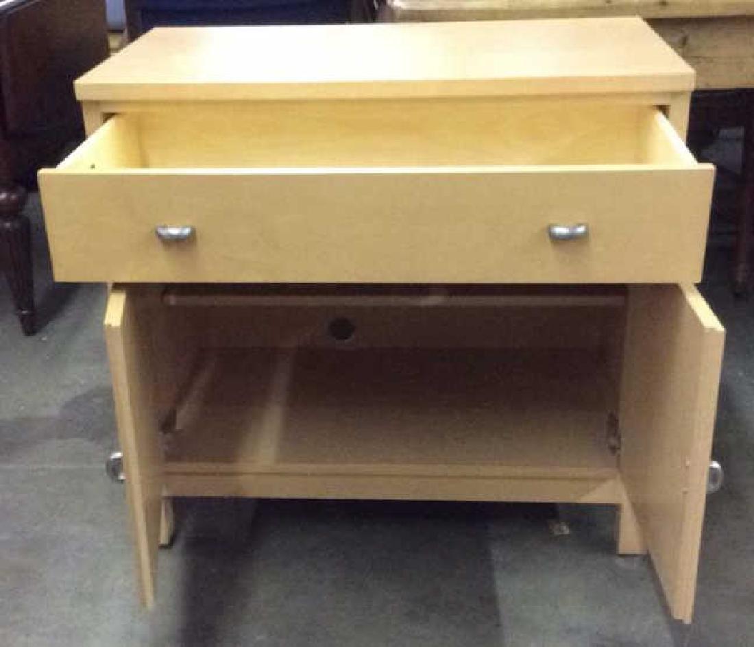 ETHAN ALLEN Wooden Cabinet Chest - 3