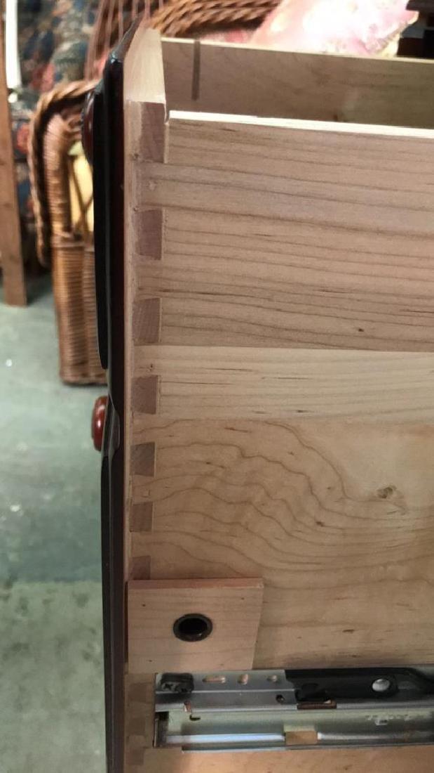 ETHAN ALLEN Poss Mahogany Drop Leaf Desk - 7