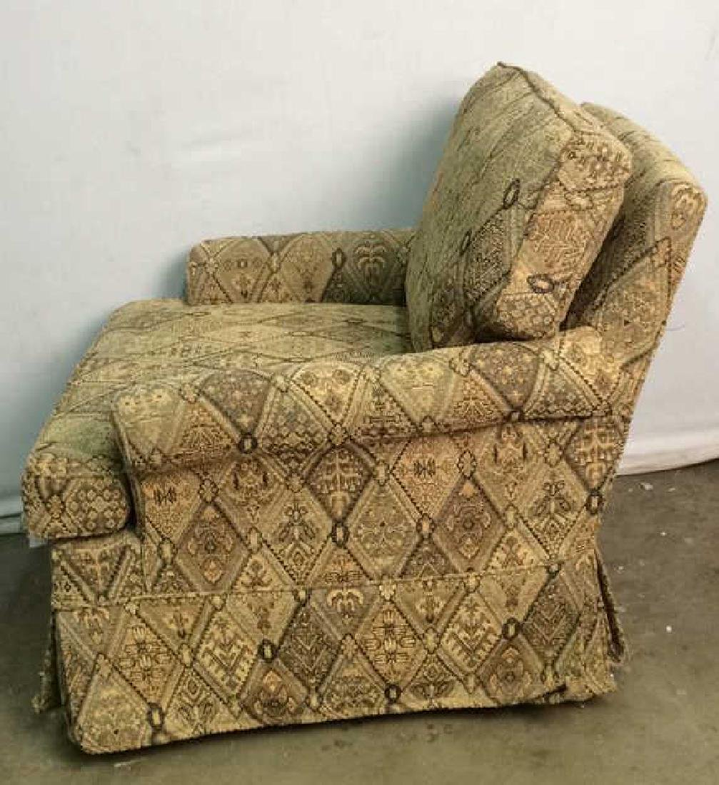 Lot 2 ETHAN ALLEN Arm Chair And Ottoman - 7