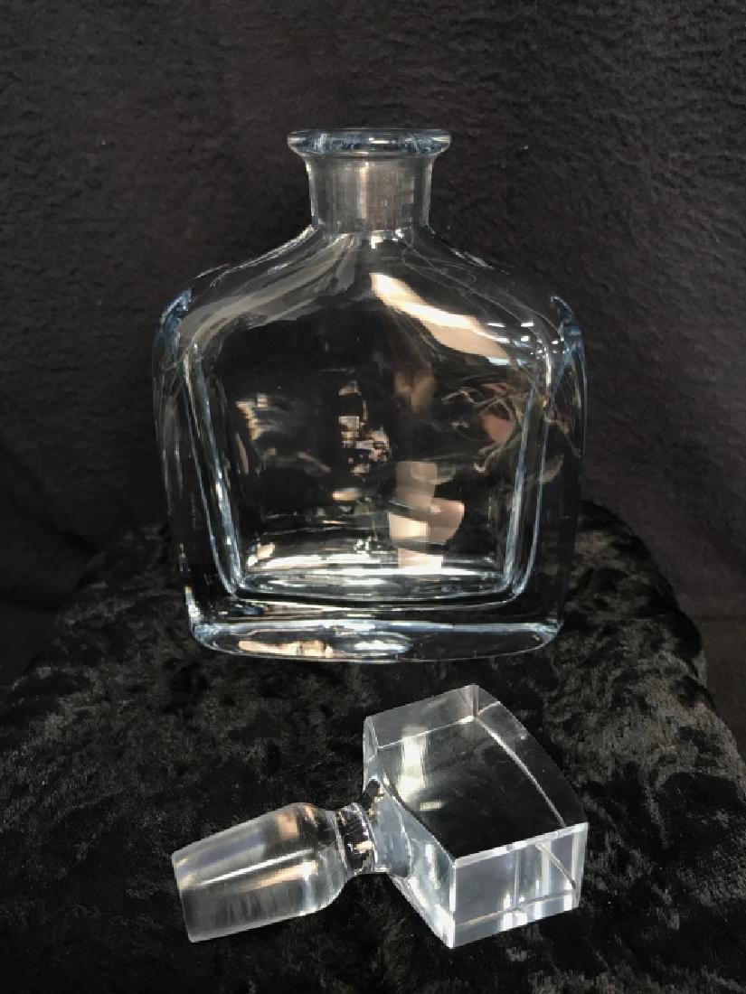 Mid Century Strombergshyttan Artglass Decanter - 3