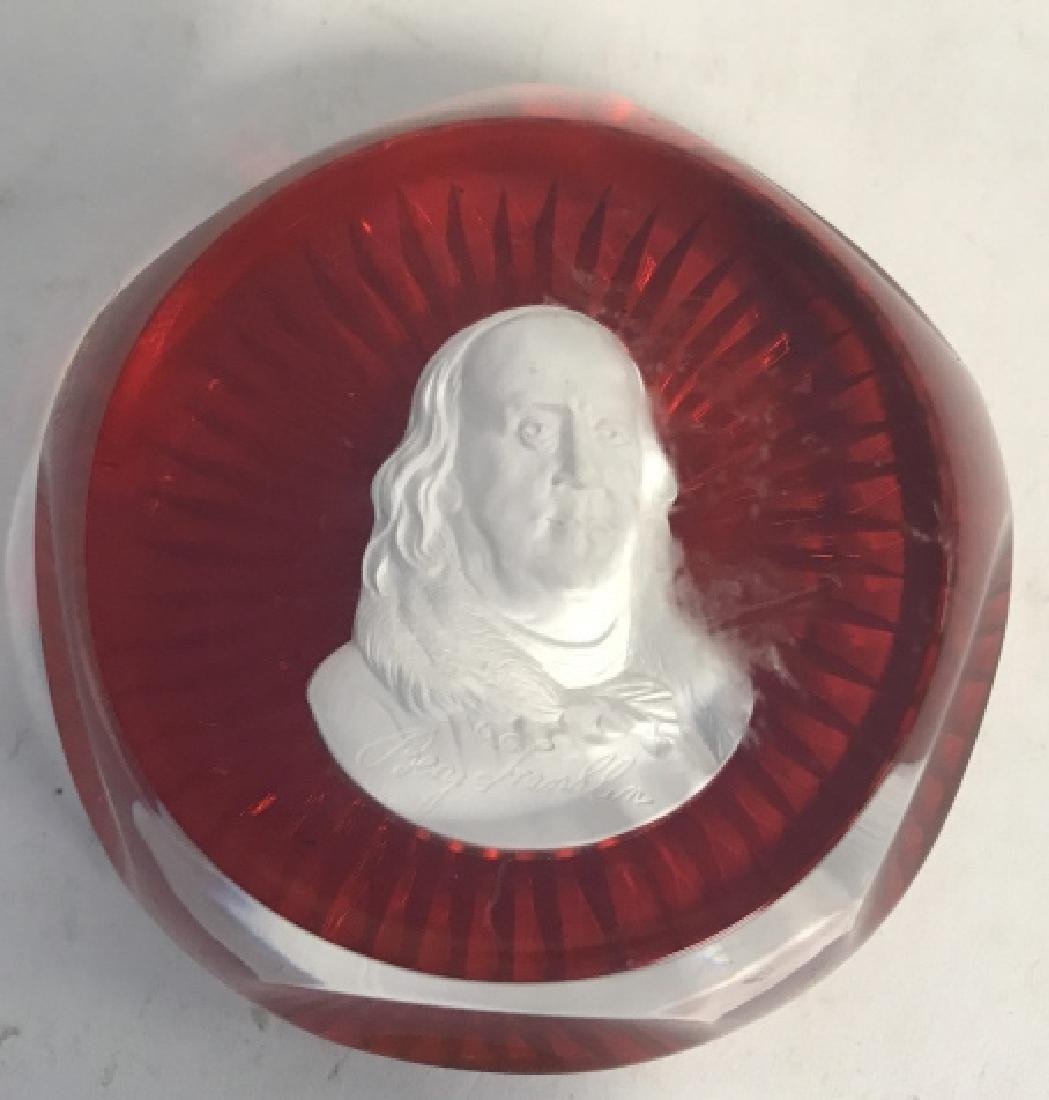 Group Lot Famous Figures Paper Weights, France - 4
