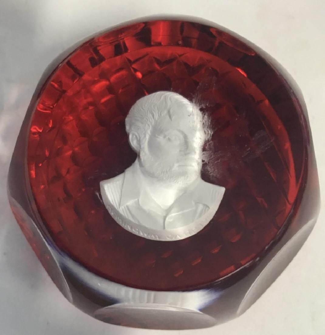 Group Lot Famous Figures Paper Weights, France - 5