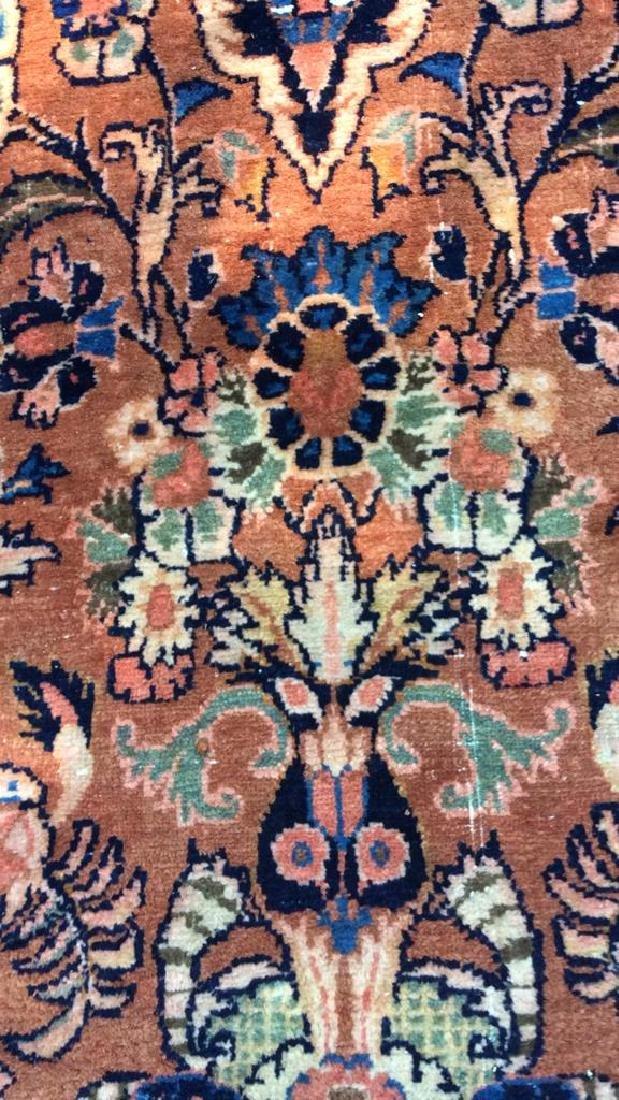 Antique Hand Made Wool Oriental Rug