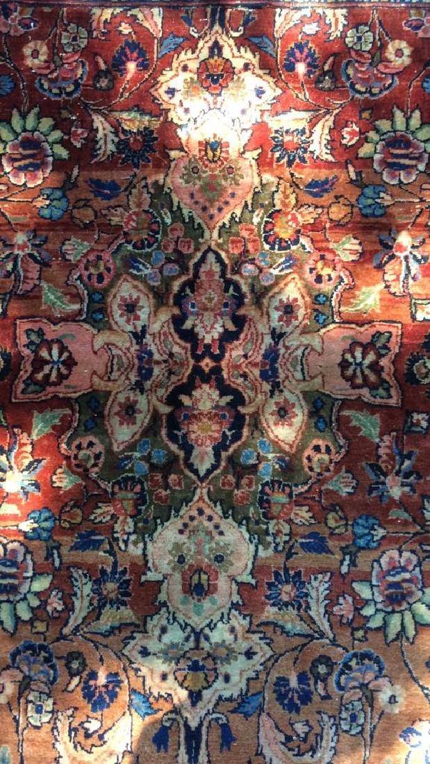 Antique Hand Made Wool Oriental Rug - 3