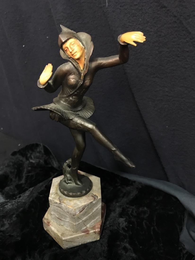 German Art Deco Dancing Figurals Vintage - 10