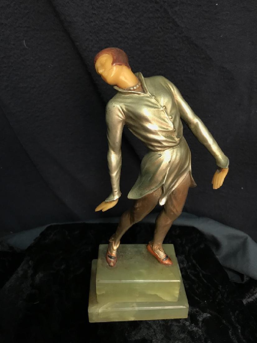 German Art Deco Dancing Figurals Vintage - 2