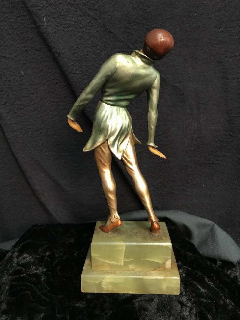 German Art Deco Dancing Figurals Vintage - 4