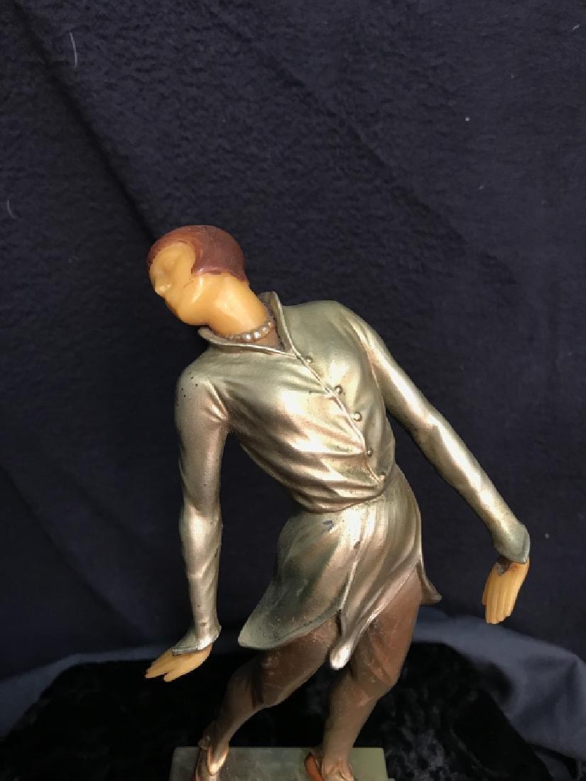 German Art Deco Dancing Figurals Vintage - 7
