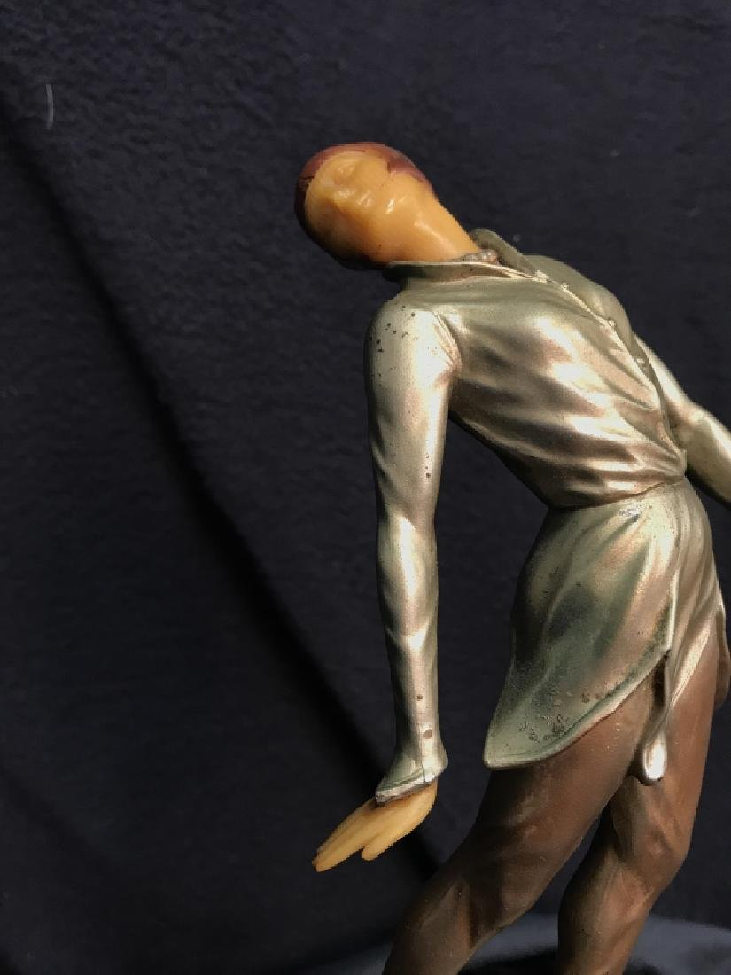 German Art Deco Dancing Figurals Vintage - 8