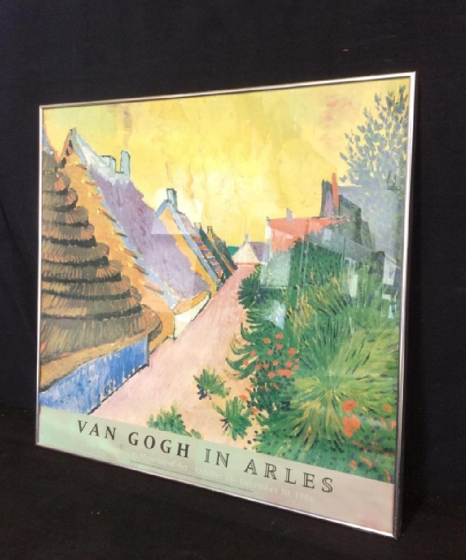 Print Van Gough In Arles Circa '84