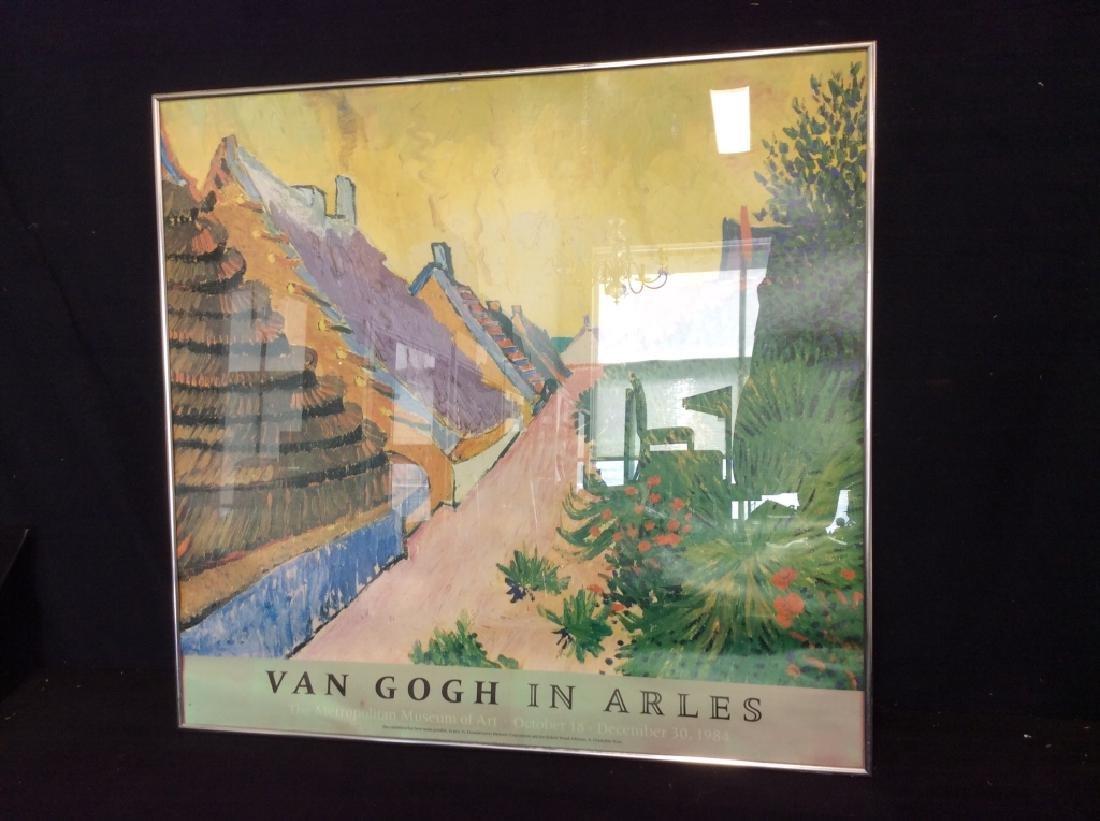 Print Van Gough In Arles Circa '84 - 2