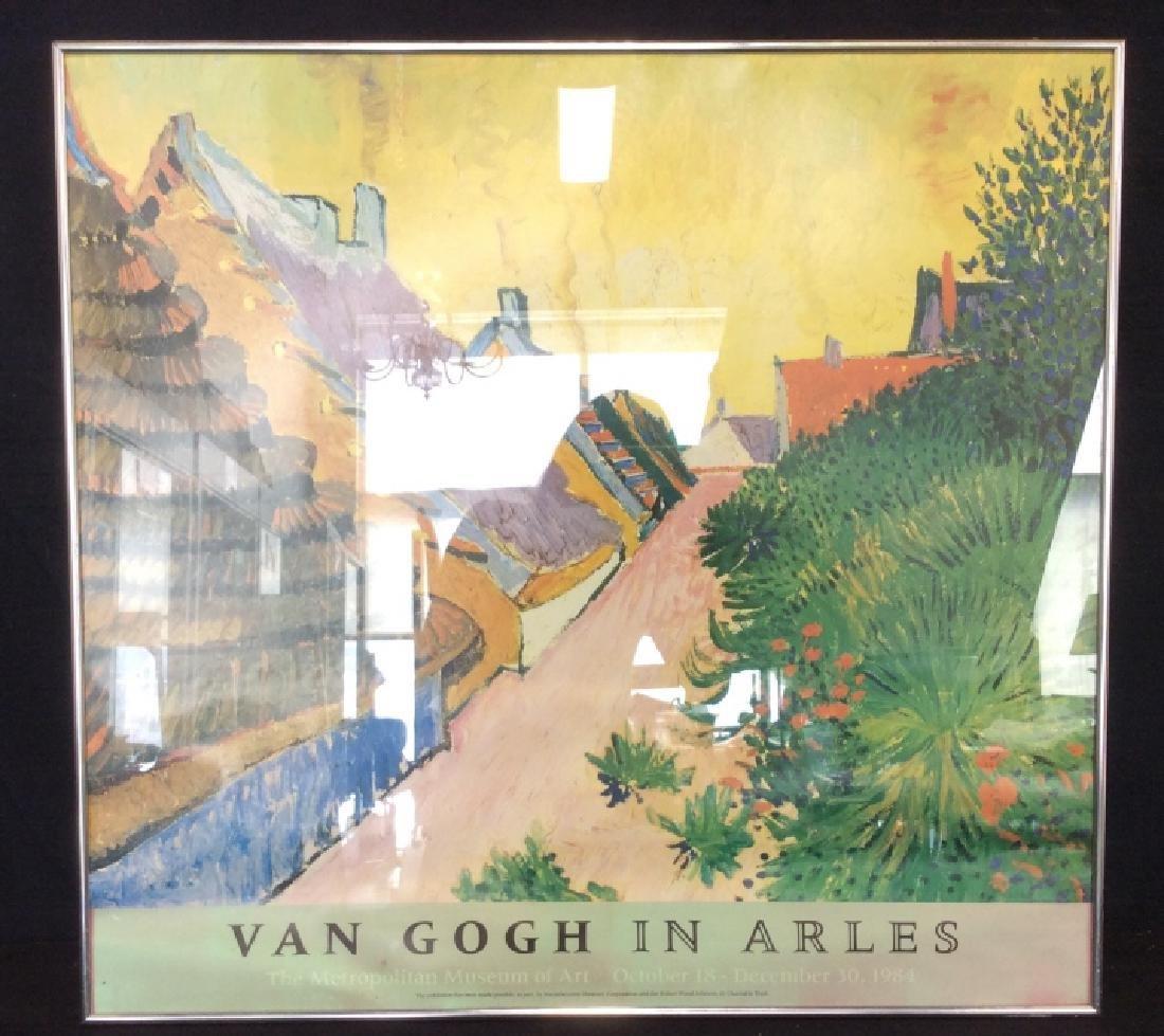 Print Van Gough In Arles Circa '84 - 3