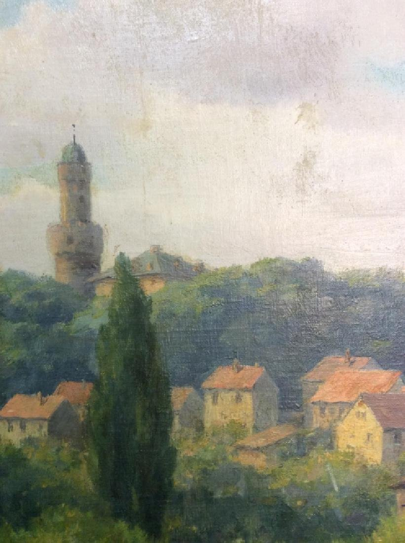 Bad Homburg 1945 Oil Painting by H.Hellbusch - 10