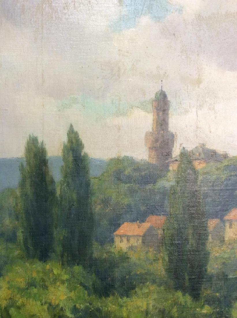 Bad Homburg 1945 Oil Painting by H.Hellbusch - 9