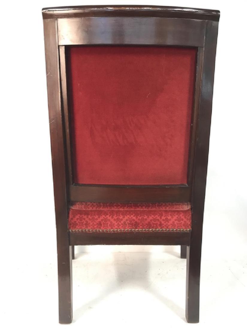 Antique French Napoleon III Louis XVI Arm Chair - 5