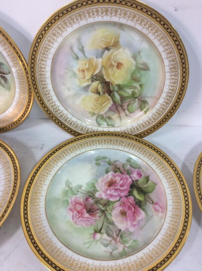 11 Antique Haviland France Painted Porcelain - 10
