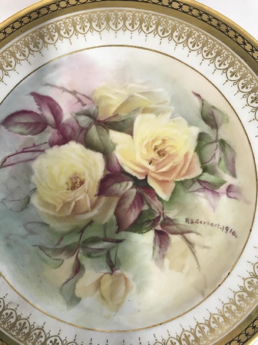 11 Antique Haviland France Painted Porcelain - 5