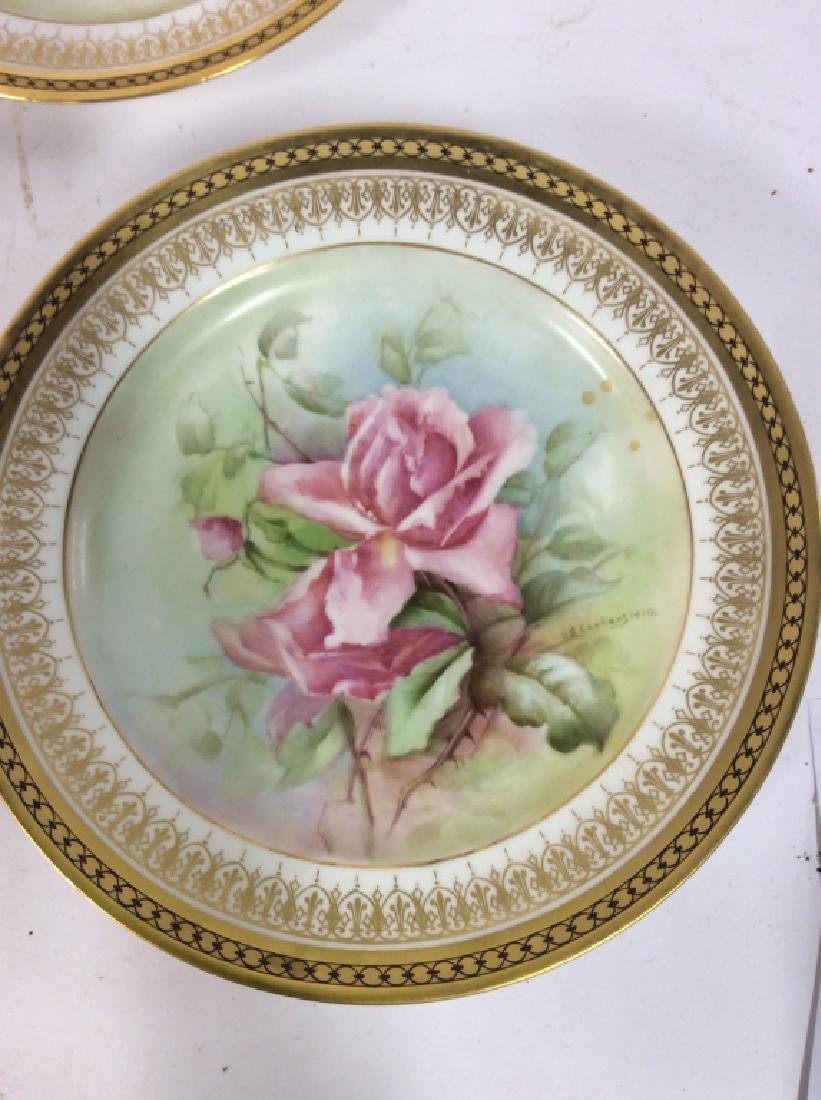 11 Antique Haviland France Painted Porcelain - 6