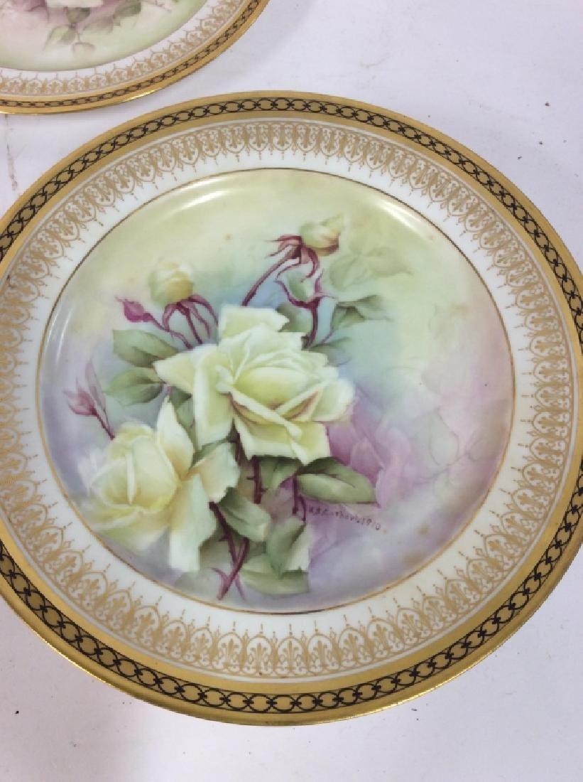 11 Antique Haviland France Painted Porcelain - 7