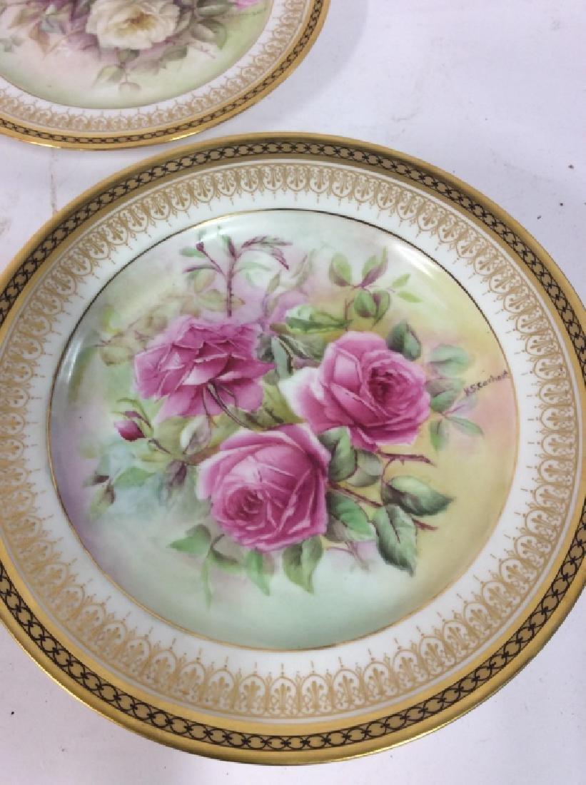 11 Antique Haviland France Painted Porcelain - 8