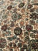 Vintage Handmade Silk Chinese Carpet