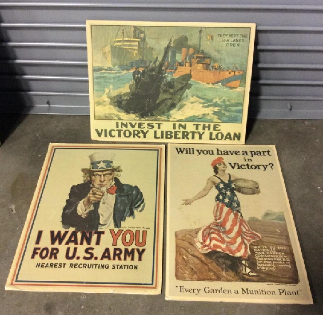 Vintage poster reproductions