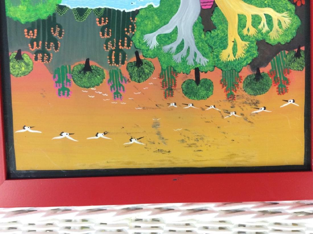 FELIX MAURICIO Mexican Folk Art Painting On Board - 6